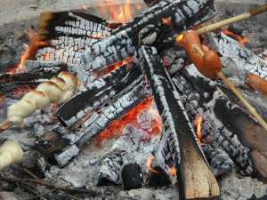 Stockbrot Rezept fürs Lagerfeuer Stock