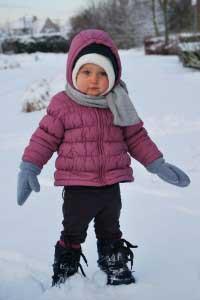 Winter Spiele für draußen kind