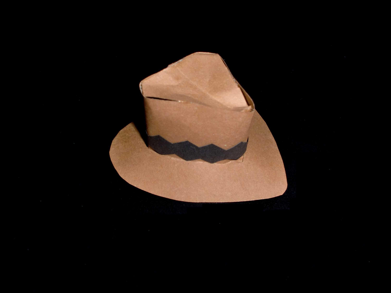 Cowboyhut Als Deko Basteln Kindergeburtstag Or At