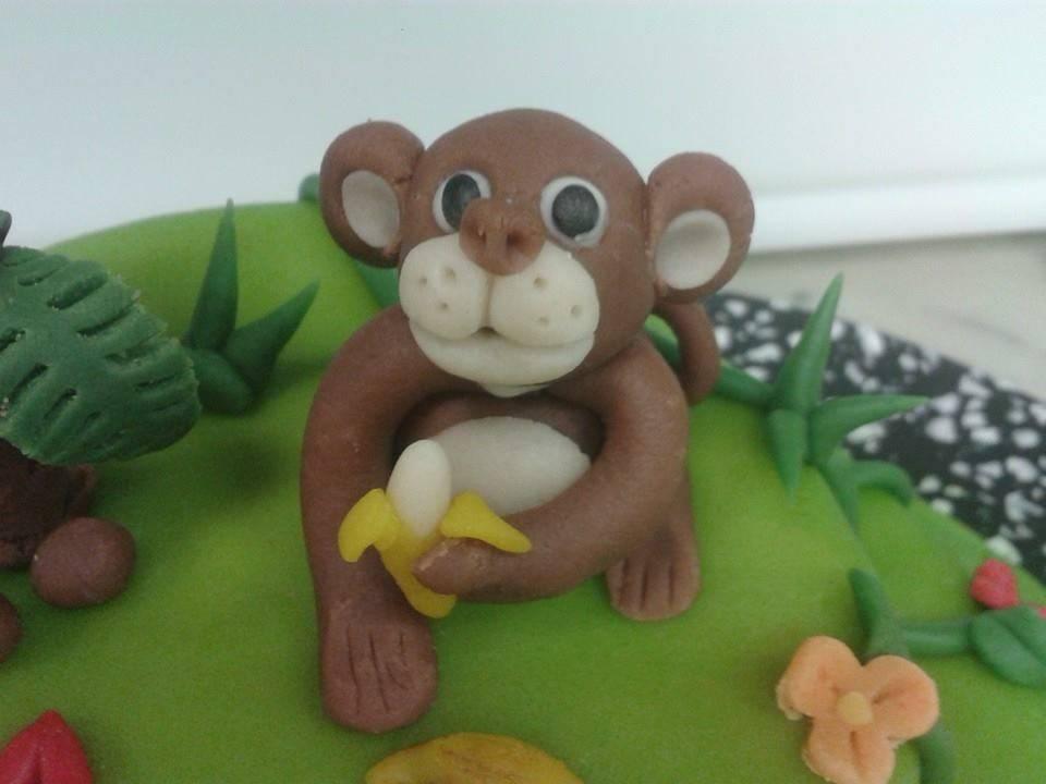 Tierische Deko für den Geburtstagstisch
